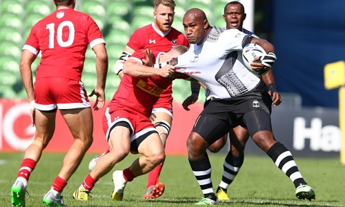 Nemani Nadolo faces the Canadians in Fiji's last warm up match. Photo: The Guardian