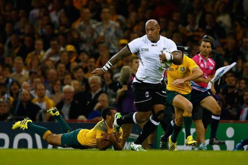 Fiji winger Nemani Nadolo in action against the Wallabies last week. Photo: World Rugby