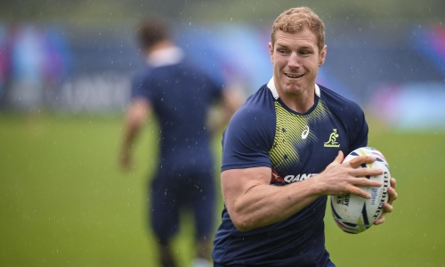 David Pocock will man the back of the Wallabies scrum against Fiji. Photo: Getty Images
