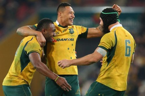 The Wallabies are ready to rumble. Photo: Getty Images