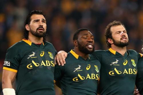 PLAYING FOR THE JERSEY: Prop Tendai Mtawarira is one of nine non-white players in the Springbok squad. Photo: World Rugby