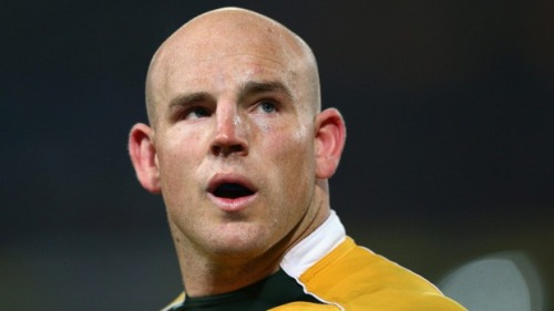 Wallaby skipper Stephen Moore is only focused on their first match against Fiji. Photo: SMH