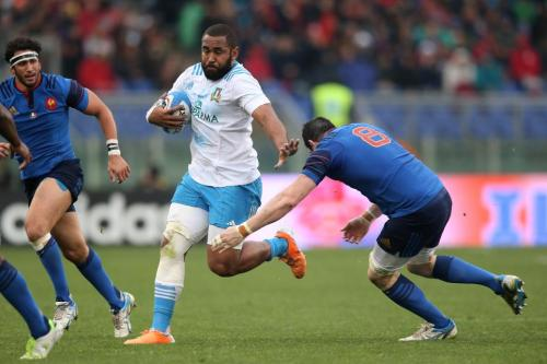 Big on being a ball carrier at number eight . . . Vunisa. Photo: World Rugby