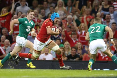 The Welsh play against Ireland in the Six Nation competition.