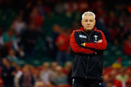 Wales coach Warren Gatland watches his team play Fiji last Friday. Photo: WalesOnline